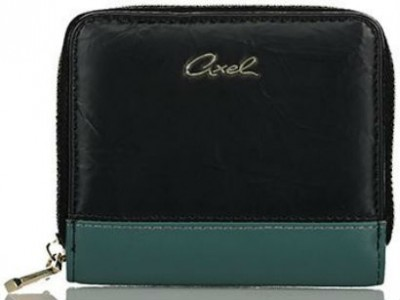 Axel Alba wallet with zipper -s 1101-1273 003 black