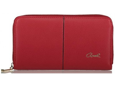 Axel Celosia wallet with zipper 1101-1278 202 chili pepper