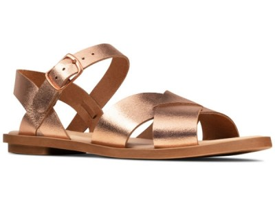 Clarks Willow Gild 26148019 rose gold metallic