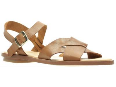 Clarks Willow Gild 26139431 tan leather
