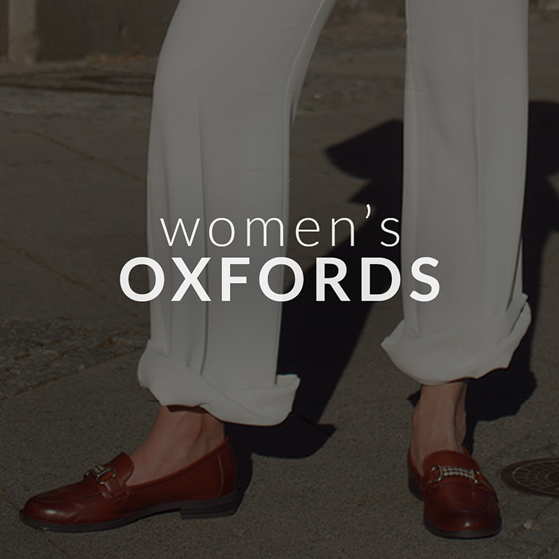 Women's OXFORDS